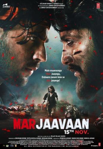 Marjaavaan (2019) Hindi 720p HDRip x264 AAC ESubs