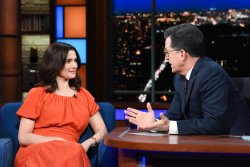Rachel Weisz - The Late Show with Stephen Colbert: April 26th 2018