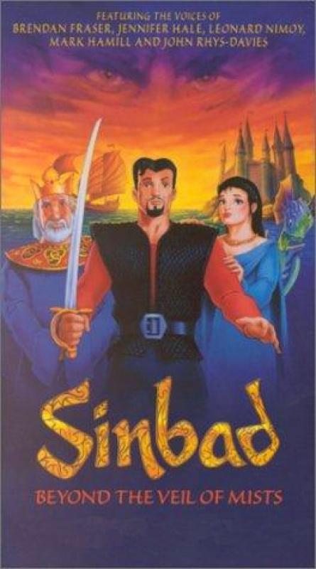 Sinbad - Beyond the Veil of Mists (2000) 720p WEBRip x264 ESubs [Dual Audio][Hindi+English]