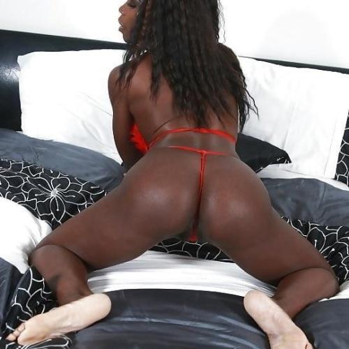 Bubble ebony butt
