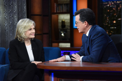 Diane Sawyer - The Late Show with Stephen Colbert: April 12th 2018