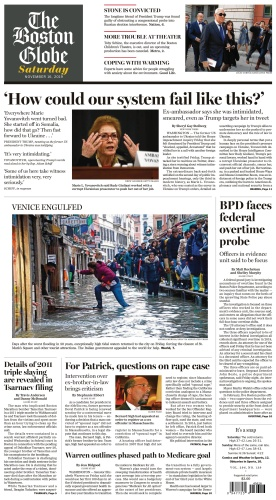 The Boston Globe - 16 11 (2019)