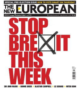 The New European  10 December (2019)