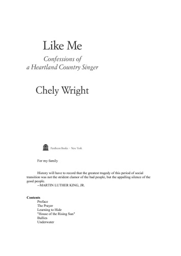 Like Me Confessions of a Heartland Country Singer