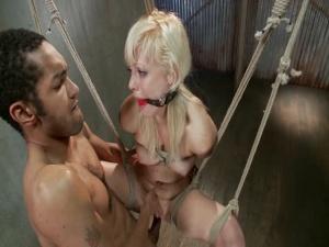 Cute Young Blonde Overwhelmed with Bondage and Cock Elyssa Greene Mickey Mod - BDSM, Punishment, Bondage