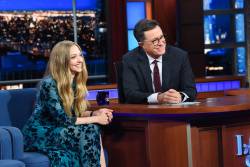 Amanda Seyfried - The Late Show with Stephen Colbert: August 6th 2019