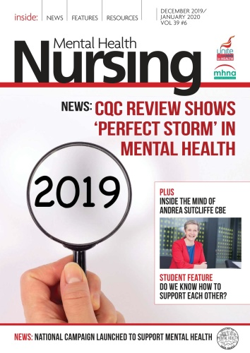 Mental Health Nursing - December 2019 - January (2020)