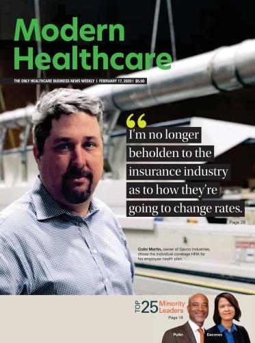 Modern Healthcare  February 17 (2020)