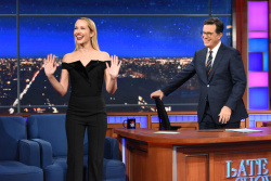 Anna Camp - The Late Show with Stephen Colbert: October 30th 2017