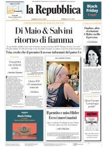 la Repubblica - 29 11 (2019)