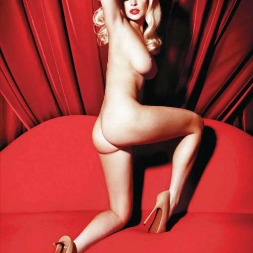 Hot naked blonde models