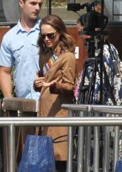 Natalie Portman - Leaving Venice in a Taxi Boat 9/6/18