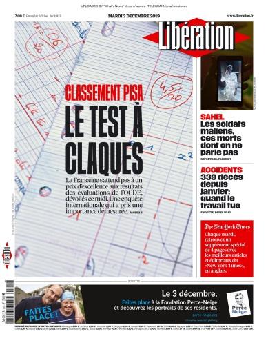 Libération - 03 12 (2019)