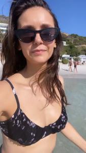 Nina Dobrev in Bikini 8/2/2020