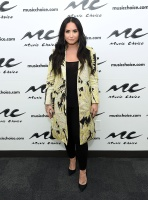 Demi Lovato -         Music Choice Music Choice Studios New York City March 22nd 2018.