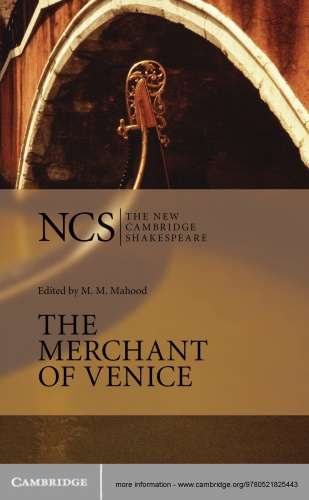 The Merchant of Venice (The New Cambridge Shakespeare), 2nd Edition