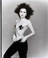 Valeria Golino - 1997 Giovanni Cozzi BW Photoshoot x1