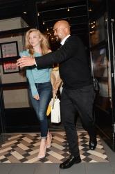 Natalie Dormer -                            Leaving ''In Darkness'' Screening London July 3rd 2018.