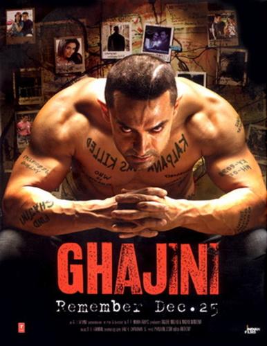 Ghajini 2008 BluRay Hindi 720p x264 AAC 5 1 ESub - mkvCinemas