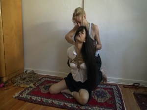 Kinbaku - Me suffering in rope and shared an intense moment - BDSM, Punishment, Bondage