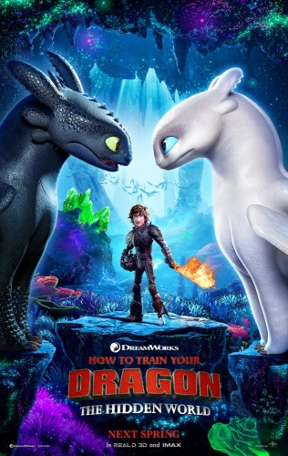 How to Train Your Dragon The Hidden World (2019) 1080p Blu-Ray x264  [Multi Audio][Hindi+Telugu+T...