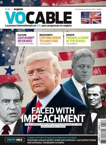 Vocable Anglais  23 janvier (2020)