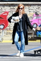 Jessica Chastain - grocery shopping in Palos Verdes 4/4/2020