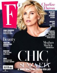 Charlize Theron -                         F Magazine (Italy) June (2018).