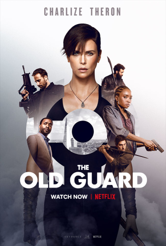 The Old Guard (2020) 720p HDRip x264 AAC 5 1 Msubs [Dual Audio][Hindi+English]