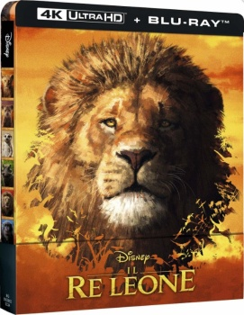 Il re leone (2019) Full Blu-Ray 4K 2160p UHD HDR 10Bits HEVC ITA DD Plus 7.1 ENG Atmos/TrueHD 7.1 MULTI