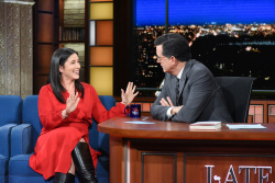 Rebecca Traister - The Late Show with Stephen Colbert: January 18th 2019