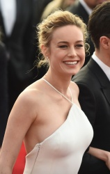 Brie Larson at the 23rd Annual Screen Actors Guild Awards in Los Angeles on January 29, 2017