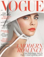 Cara Delevingne -               Vogue Magazine (UK) June 2018.