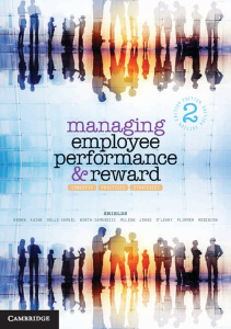 Managing Employee Performance and Reward- Concepts, Practices, Strategies, 2nd Edi...