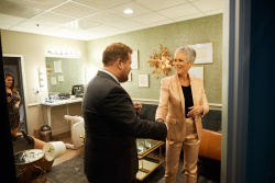 Jamie Lee Curtis - The Late Late Show with James Corden: October 17th 2018