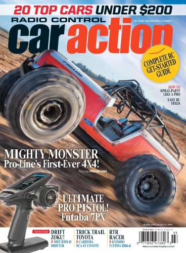 Radio Control Car Action  February 2018