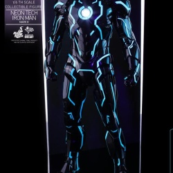"Iron Man 2 - Mark IV Neon Tech ""Toy Flair Exclusive 2018"" 1/6 (Hot Toys) WxzZgSKs_t"