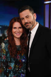 Megan Mullally - Jimmy Kimmel Live: August 7th 2018