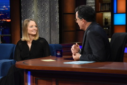 Jodi Foster - The Late Show with Stephen Colbert: December 15th 2017