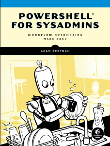 PowerShell for Sysadmins- Workflow Automation Made Easy
