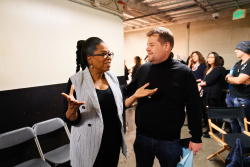 Oprah Winfrey - The Late Late Show with James Corden: March 12th 2018