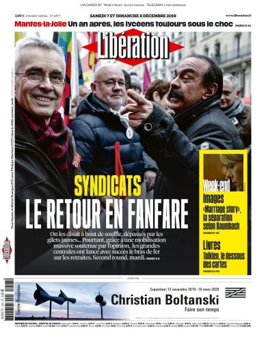 Libération - 07 12 (2019)