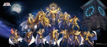 Saint Seiya - Android game by Tencent (artworks)