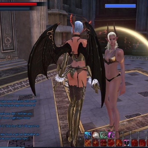 Free online lesbian porn games