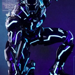 "Iron Man 2 - Mark IV Neon Tech ""Toy Flair Exclusive 2018"" 1/6 (Hot Toys) V2ChaW2k_t"