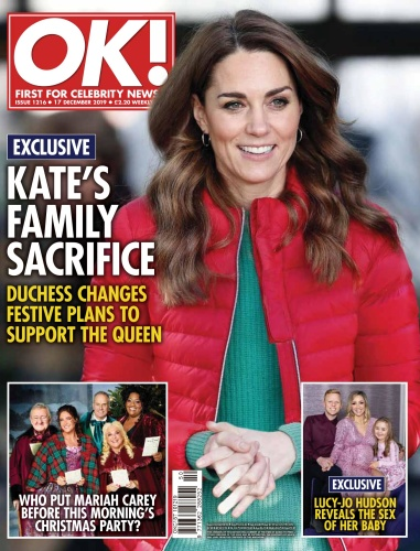 OK ! Magazine UK  16 December (2019)
