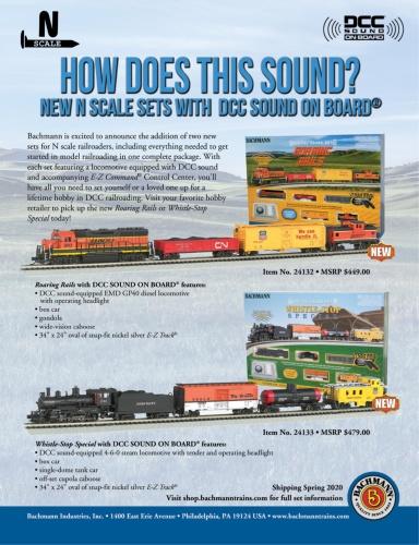 Model Railroader - April (2020)