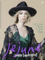 Laura Vandervoort -       Jejune Magazine May 2020.