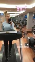 Kaley Cuoco - Gym Time 14/1/2020