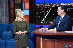 Kristen Bell - The Late Show with Stephen Colbert: September 28th 2018